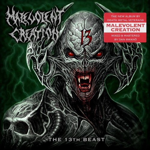 Malevolent Creation - The 13th Beast (2019)